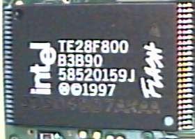 Flash paměť telefonu MC d160
